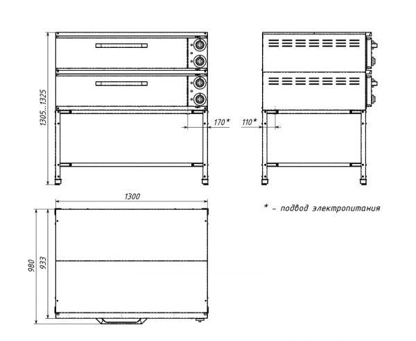 Пекарский шкаф C4 (Z)