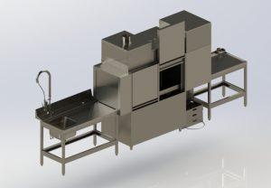 Посудомоечная машина туннельная LM – T-2000-L