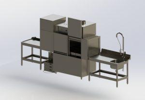 Посудомоечная машина туннельная LM – T-2000-R